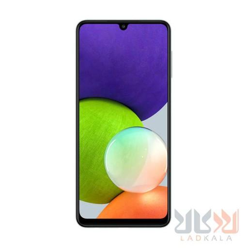 گوشی موبایل سامسونگ گلکسی A22 ظرفیت 128 گیگابایت و رم 6 گیگابایت صفحه نمایش 6.4 اینچ  دوربین 48 مگاپیکسل  18 ماه گارانتی ریجستر شده