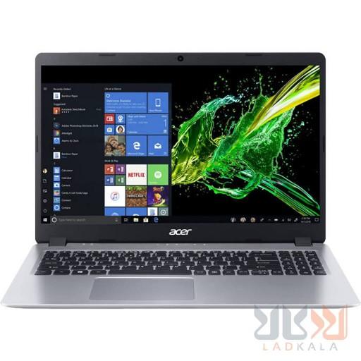 لپ تاپ ایسر  Aspire 5 A515 ci3   مشخصات: ryzen 3 3200u  4gb  128gb  ssd  2gb  fhd