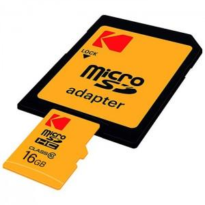 کارت حافظه کداک مدل Micro SDHC 45MB/s کلاس 10 ظرفیت 16 گیگابایت