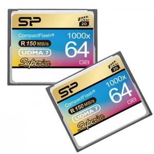 کارت حافظه سیلیکون پاور CF 1000X سرعت 150 مگابایت بر ثانیه ظرفیت 64 گیگابایت