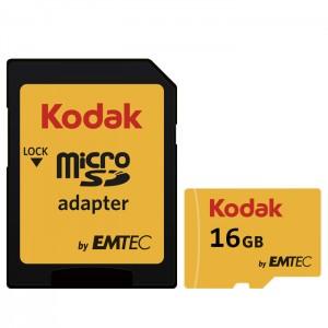 کارت حافظه کداک مدل Micro SDHC UHS-1U3 کلاس 10 ظرفیت 16 گیگابایت