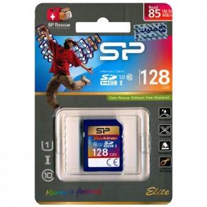 کارت حافظه سیلیکون پاور مدل SDHC UHS-1 Elite U1 85MB/s کلاس 10 ظرفیت 128 گیگابایت