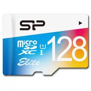کارت حافظه سیلیکون پاور مدل Color Elite microSDHC UHS-1 کلاس 10 - ظرفیت 128 گیگابایت