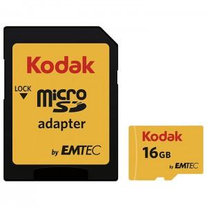 کارت حافظه کداک SDHC UHS-l U1 85MB/s کلاس 10 ظرفیت 16 گیگابایت