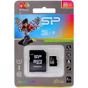 کارت حافظه سیلیکون پاور مدل MicroSDHC 85MB/s کلاس 10 ظرفیت 128 گیگابایت