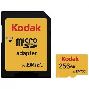 کارت حافظه کداک SDHC UHS-l U1 85MB/s کلاس 10 ظرفیت 256 گیگابایت