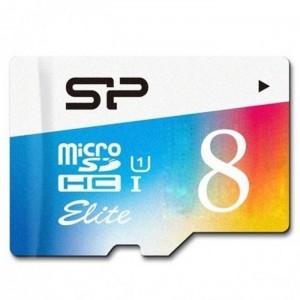 کارت حافظه سیلیکون پاور مدل Color Elite microSDHC UHS-1 کلاس 10 - ظرفیت 8 گیگابایت