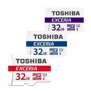 کارت حافظه توشیبا مدل EXCERIA M301 UHS-1 کلاس10 - ظرفیت 32 گیگابایت