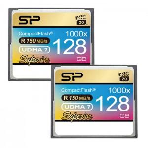 کارت حافظه سیلیکون پاور CF 1000X سرعت 150 مگابایت بر ثانیه ظرفیت 128 گیگابایت