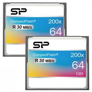 کارت حافظه سیلیکون پاور مدل CF 200X سرعت 30 مگابایت بر ثانیه ظرفیت 64 گیگابایت