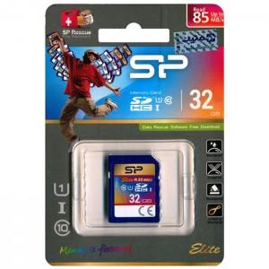 کارت حافظه سیلیکون پاور مدلClass 10 SDHC UHS-1 Elite U1 85MB/s کلاس 10 ظرفیت 32 گیگابایت