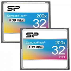 کارت حافظه سیلیکون پاور مدل CF 200X سرعت 30 مگابایت بر ثانیه ظرفیت 32 گیگابایت