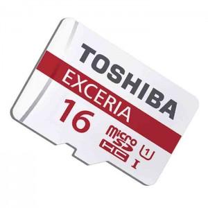 کارت حافظه توشیبا مدل EXCERIA M302-EA UHS-I U1 کلاس10 همراه با آداپتور- ظرفیت 16 گیگابایت