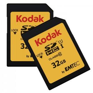 کارت حافظه کداک SDHC UHS-l U1 85MB/s کلاس 10 ظرفیت 32 گیگابایت