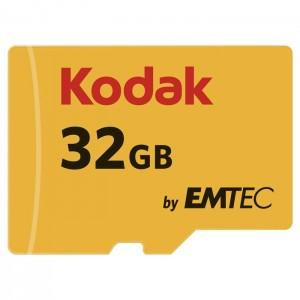 کارت حافظه کداک مدل Micro SDHC UHS-1U3 کلاس 10 ظرفیت 32 گیگابایت