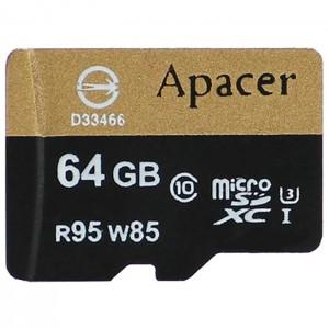 کارت حافظه اپیسر مدل SDHC UHS-I U3 کلاس 10 ظرفیت 64 گیگابایت