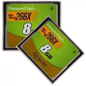 کارت حافظه اپیسر مدل CF 266X سرعت 40 مگابایت برثانیه ظرفیت 8 گیگابایت