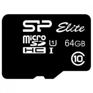 کارت حافظه سیلیکون پاور مدل Elite microSDHC UHS-1 کلاس 10 - ظرفیت 64 گیگابایت