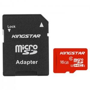 کارت حافظه کینگ استار مدل Micro SDHC UHS-1U1 85MB/s کلاس 10 ظرفیت 16 گیگابایت