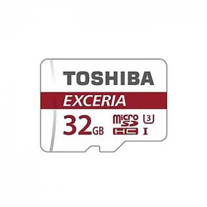 کارت حافظه توشیبا مدل SDHC UHS-3 M302 کلاس10 همراه با آداپتور- ظرفیت 32 گیگابایت