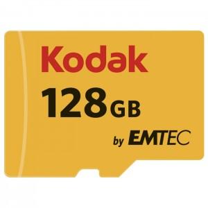 کارت حافظه کداک مدل Micro SDHC UHS-1U3 کلاس 10 ظرفیت 128 گیگابایت