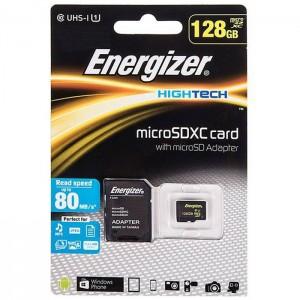 کارت حافظه انرجایزر مدل Hightech کلاس 10 ظرفیت 128 گیگابایت