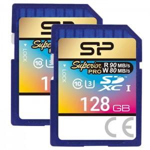 کارت حافظه سیلیکون پاور مدل SDHC Superior Pro U3 80MB/s کلاس 10 ظرفیت 128 گیگابایت