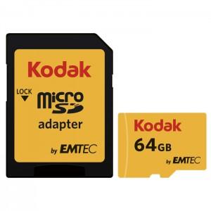 کارت حافظه کداک مدل Micro SDHC UHS-1U3 کلاس 10 ظرفیت 64 گیگابایت