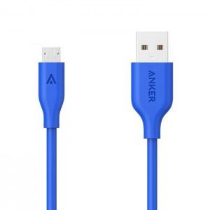 کابل تبدیل USB به microUSB انکر مدل A8132 PowerLine