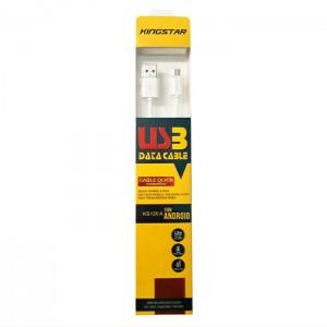 کابل شارژ Micro USB کینگ استار مدل KS120A