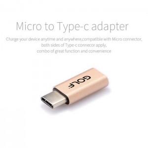 مبدل MicroUSB به USB Type-C گلف CG-31