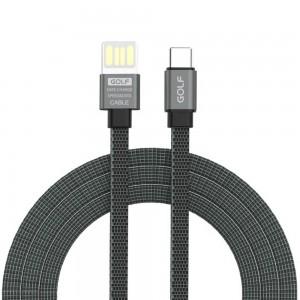 کابل شارژ USB Type-C گلف GC-73T طول 100 سانتی متر