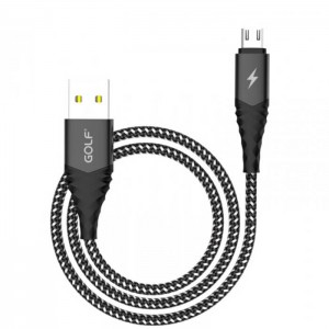 کابل شارژ USB Type-C گلف GC-67T طول 100 سانتی متر