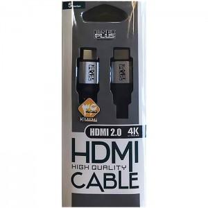 کابل اچ دی ام آی 5 متری کی نت پلاس KP-HC153 HDMI2.0