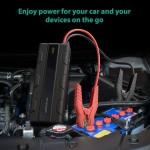 پاور بانک و جامپ استارتر خودرو راو پاور RP-PB063 ظرفیت 14000mAh میلی آمپر ساعت