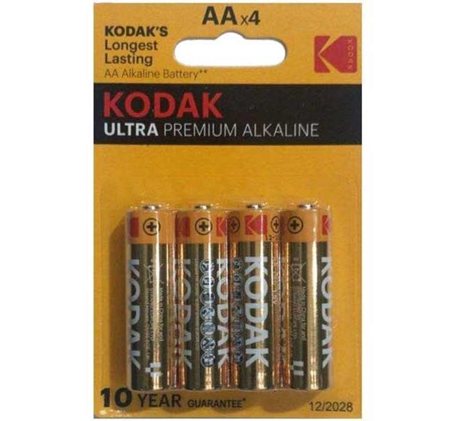 باتری قلمی4 تایی کداک مدل ULTRA PREMIUM ALKALINE