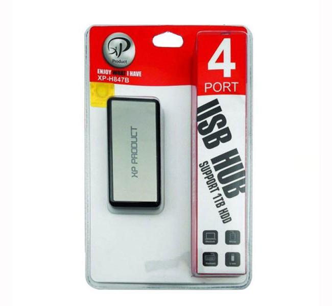 هاب 4 پورت USB 2.0 اکس پی مدل  H847
