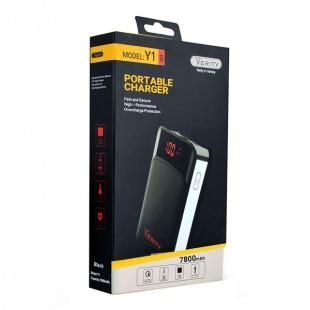 شارژر همراه وریتی مدل Y1 ظرفیت 7800 میلی آمپر ساعت
