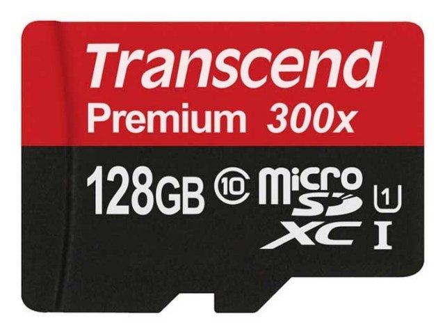 کارت حافظه Transcend Class 10 Premium 300X 128GB