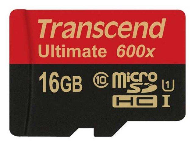 کارت حافظه Transcend Class 10 Ultimate 600X 16GB