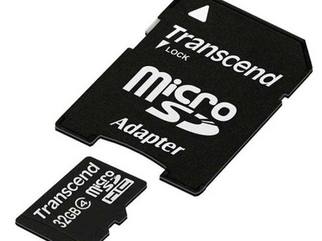 کارت حافظه Transcend Class 4 32GB