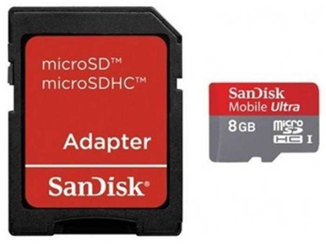 کارت حافظه SanDisk Class 10 8GB