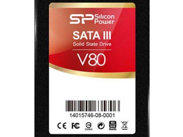 هارد Silicon Power SATA III SSD Velox V80 120G SSD