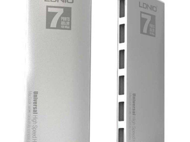 هاب USB مارک LDNIO به همراه 7 پورت