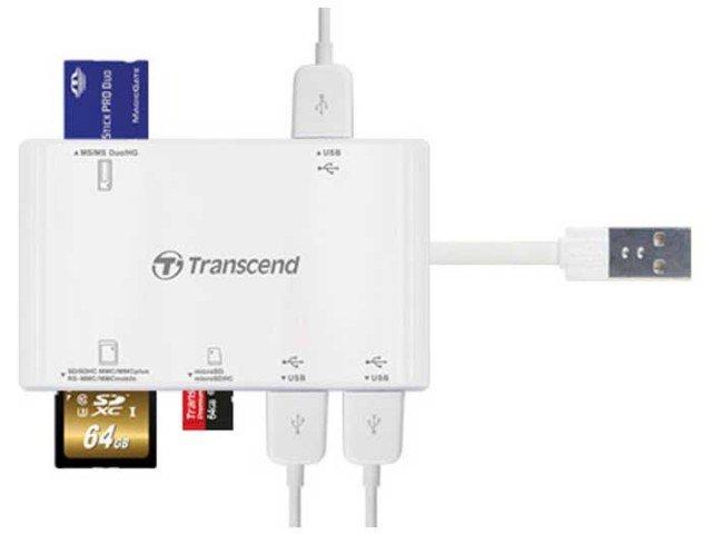 هاب USB مارک Transcend به همراه 3 پورت