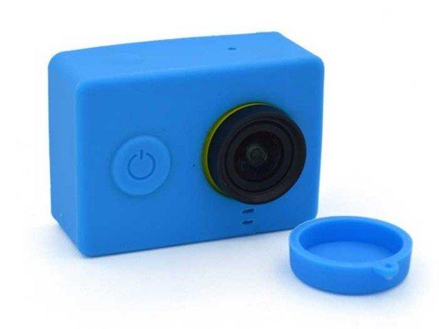 کاور سیلیکونی و درپوش لنز شیائومی Yi Camera