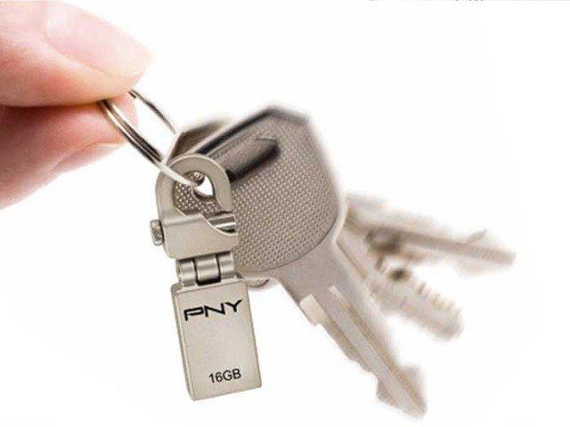 فلش مموری PNY Mini Hook 16GB