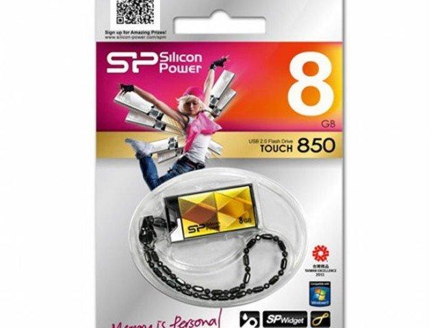 فلش مموری Silicon Power Touch 850 8GB