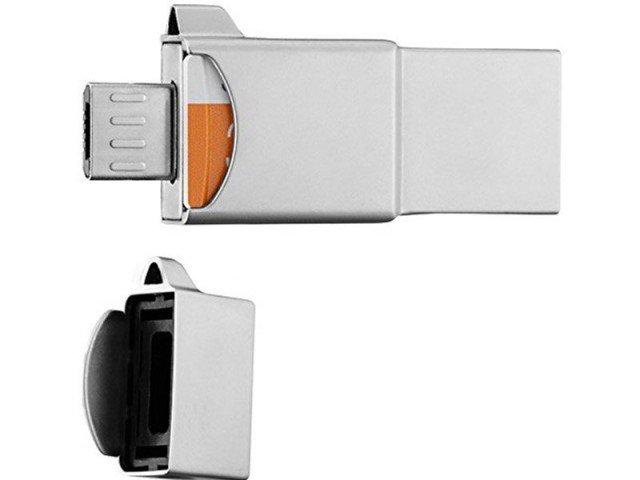 دستگاه کارت خوان چند کاره 32 گیگابایت Samsung Metal OTG/USB/Card