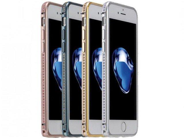 بامپر نگین دار Coteetci Diamond Bumper For Apple iPhone 7